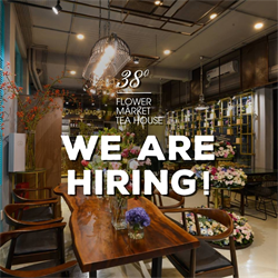 [HCM] 38 Flower Market Tea House Tuyển Dụng Marketing/ Designer Intern