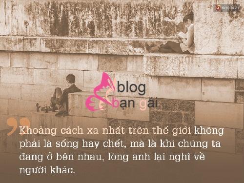 Khoảng cách yêu xa và 10 câu nói hay nhất mọi thời đại
